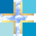 Kreuz - Himmel-gold -